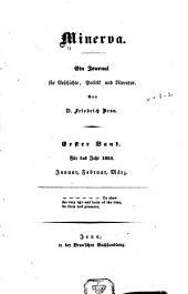 Minerva: Ein journal historischen und politischen inhalts ...