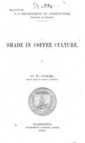 Shade in coffee culture