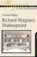 Richard Wagners Shaekespeare Wagner in der Diskussion  Bd  3    24 80   Sfr 44 10 PDF