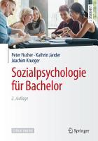 Sozialpsychologie f  r Bachelor PDF