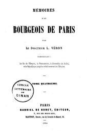Mémoires d'un bourgeois de Paris: Volume 4