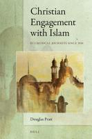 Christian Engagement with Islam PDF