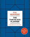 The Time Block Planner