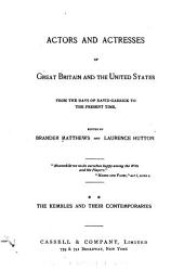 Actors and Actresses of Great Britain and the United States: Volume 2