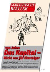 150 Jahre DAS KAPITAL– Nicht nur für Einsteiger: Marxistische Blätter 5_2017