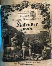 Königl.-Sächs. gnädigst privilegirter Pirnaischer oeconom. Haushaltungs-Kalender