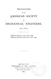 Transactions of the American Society of Mechanical Engineers: Volume 18