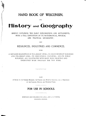 Geography Hand Book and Gazetteer of Wisconsin