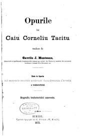 Opurile lui Caiu Corneliu Tacitu