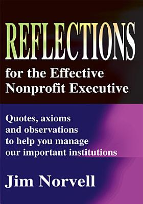Reflections for the Effective Nonprofit Executive PDF