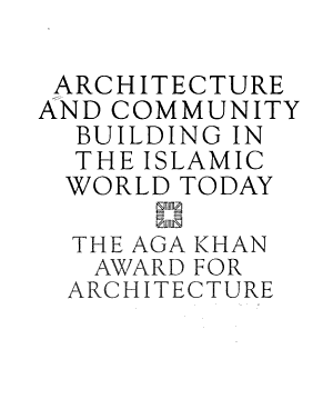 Architecture and Community