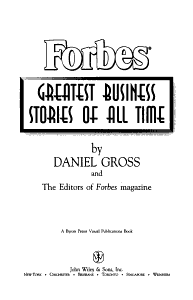 Forbes Greatest Business Stories of All Time PDF