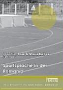 Sportsprache in der Romania PDF