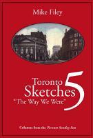 Toronto Sketches 5 PDF