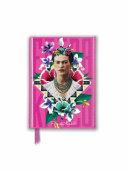 Frida Kahlo Pink Foiled Pocket Journal