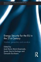 Energy Security for the EU in the 21st Century PDF