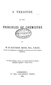 A Treatise on the Principles of Chemistry