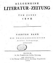Allgemeine Literatur-Zeitung: Band 4