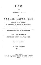 Diary and Correspondence of Samuel Pepys