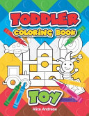 Toddler Coloring Book Toy Book