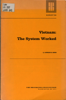 Vietnam  the System Worked PDF