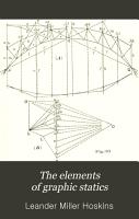 The Elements of Graphic Statics PDF