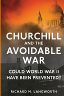 Churchill and the Avoidable War PDF