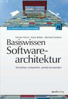 Basiswissen Softwarearchitektur PDF