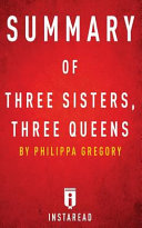 Three Sisters  Three Queens Summary PDF