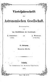 Vierteljahrsschrift der Astronomischen Gesellschaft: Band 12