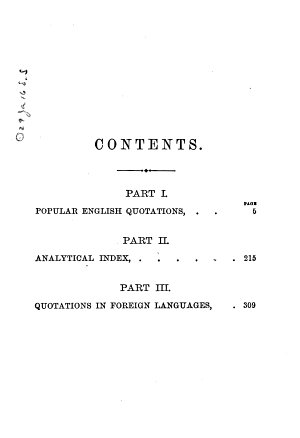 Carleton s Hand book of Popular Quotations