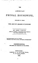 The American Frugal Housewife,
