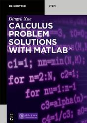Calculus Problem Solutions with MATLAB   PDF