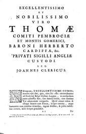 Genesis sive Mosis Prophetae liber primus