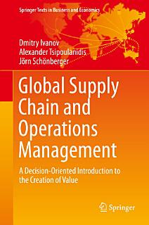 Global Supply Chain and Operations Management Book