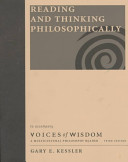 Reading and Thinking Philosophically to Accompany Voices of Wisdom Book