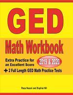 GED Math Workbook 2019 & 2020