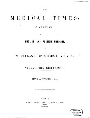 The Medical times PDF