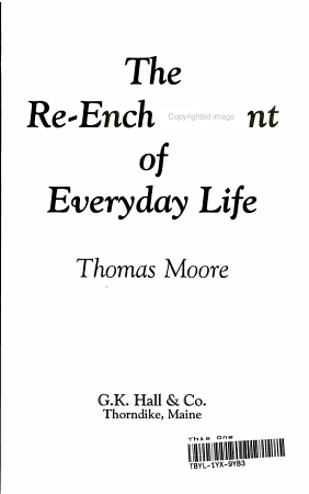 The Re Enchantment of Everyday Life PDF