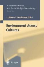 Environment across Cultures PDF