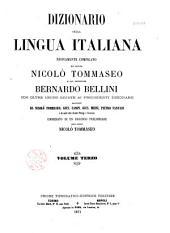 Dizionario della lingua italiana: Volume 4,Parte 1
