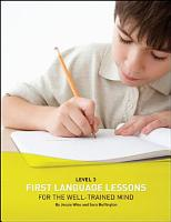 First Language Lessons for the Well Trained Mind PDF