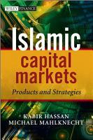 Islamic Capital Markets PDF