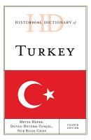 Historical Dictionary of Turkey PDF