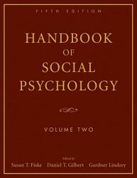Handbook Of Social Psychology Book PDF