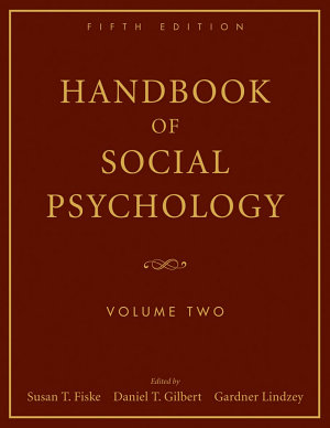 Handbook of Social Psychology  Volume 2 PDF