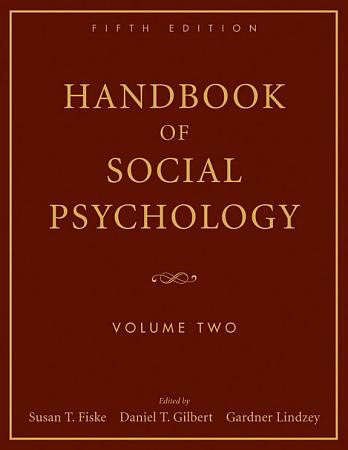 Handbook of Social Psychology  Volume 2 PDF