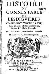 Histoire du Connestable de Lesdiguieres
