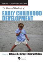 The Blackwell Handbook of Early Childhood Development PDF