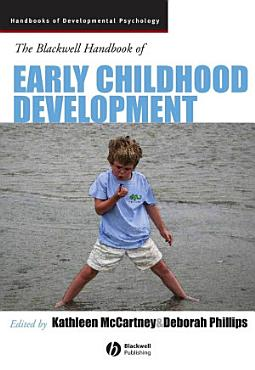 The Blackwell Handbook of Early Childhood Development PDF